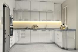 cucina moderna effetto lucido