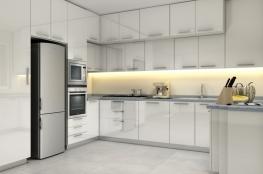 cucina moderna effetto lucido 2